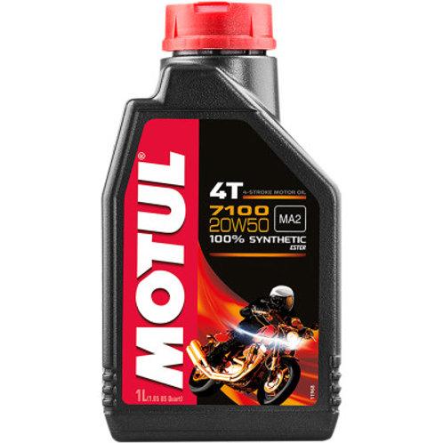 Motul 20w50 Synthetic Motor Oil 1 Quart Size