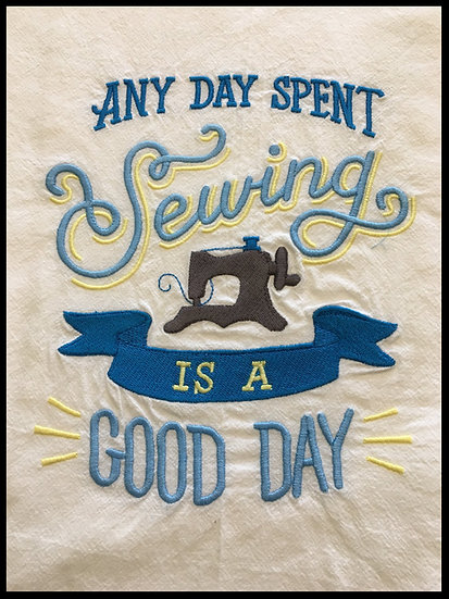 Sewing a good Day