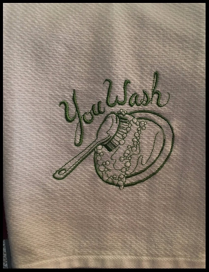 You Wash... 'll Dry Set