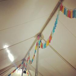 Instagram - Our tassel garlands in the #worldpomination tent at #handmadefair