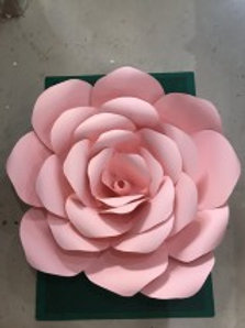 500mm 3D Paper Rose Flower wall/backdrop
