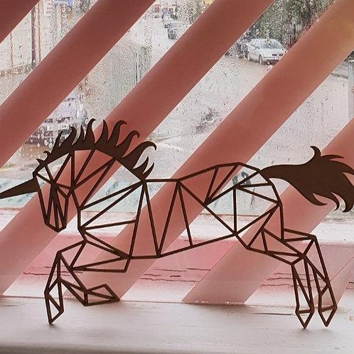 MDF Fret Cut Unicorn