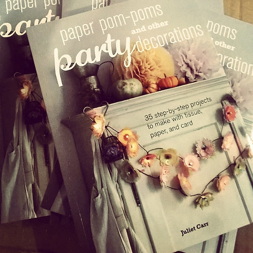 Paper Pom Pom & Other Party Decorations