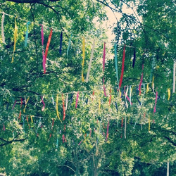 Instagram - Our clootie tree ribbons that we installed for #lambethcountryfair #