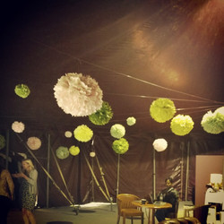 Instagram - Our poms in #handmadefair green room .jpg.jpg.jpg