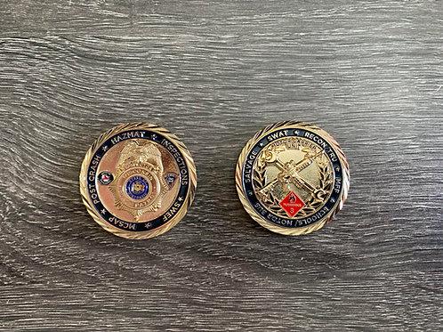 WSP Inspector Challenge Coin