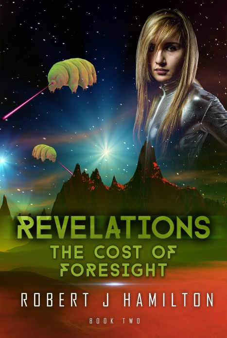 NetGalley listing for Revelations - The Cost of Foresight