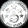 Readers Favorite Five Stars Medal