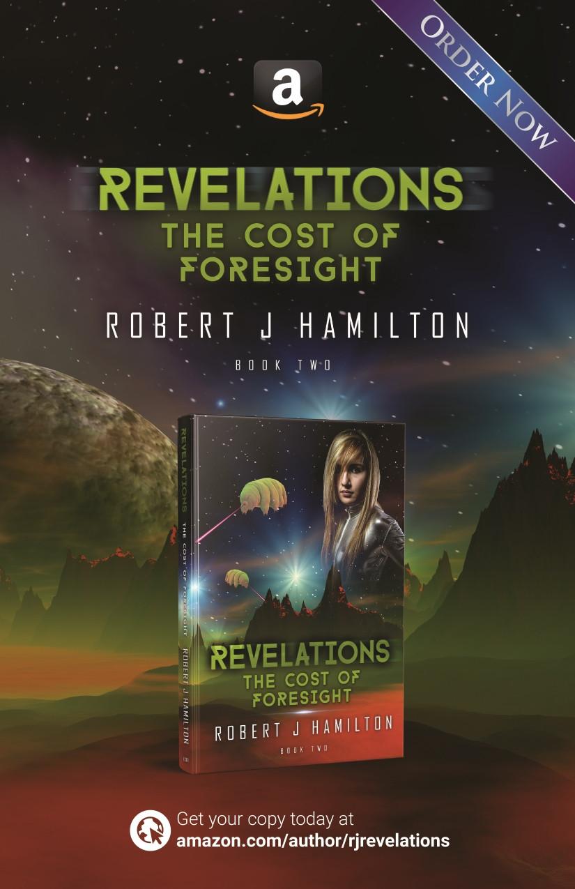 Revelations series Amazon page