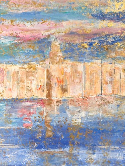 Saint Tropez 12/les Ors bleus et roses de la  Tramontane