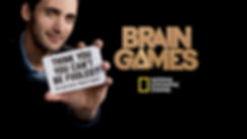 Jason Silva in National Geographic's Brain Games