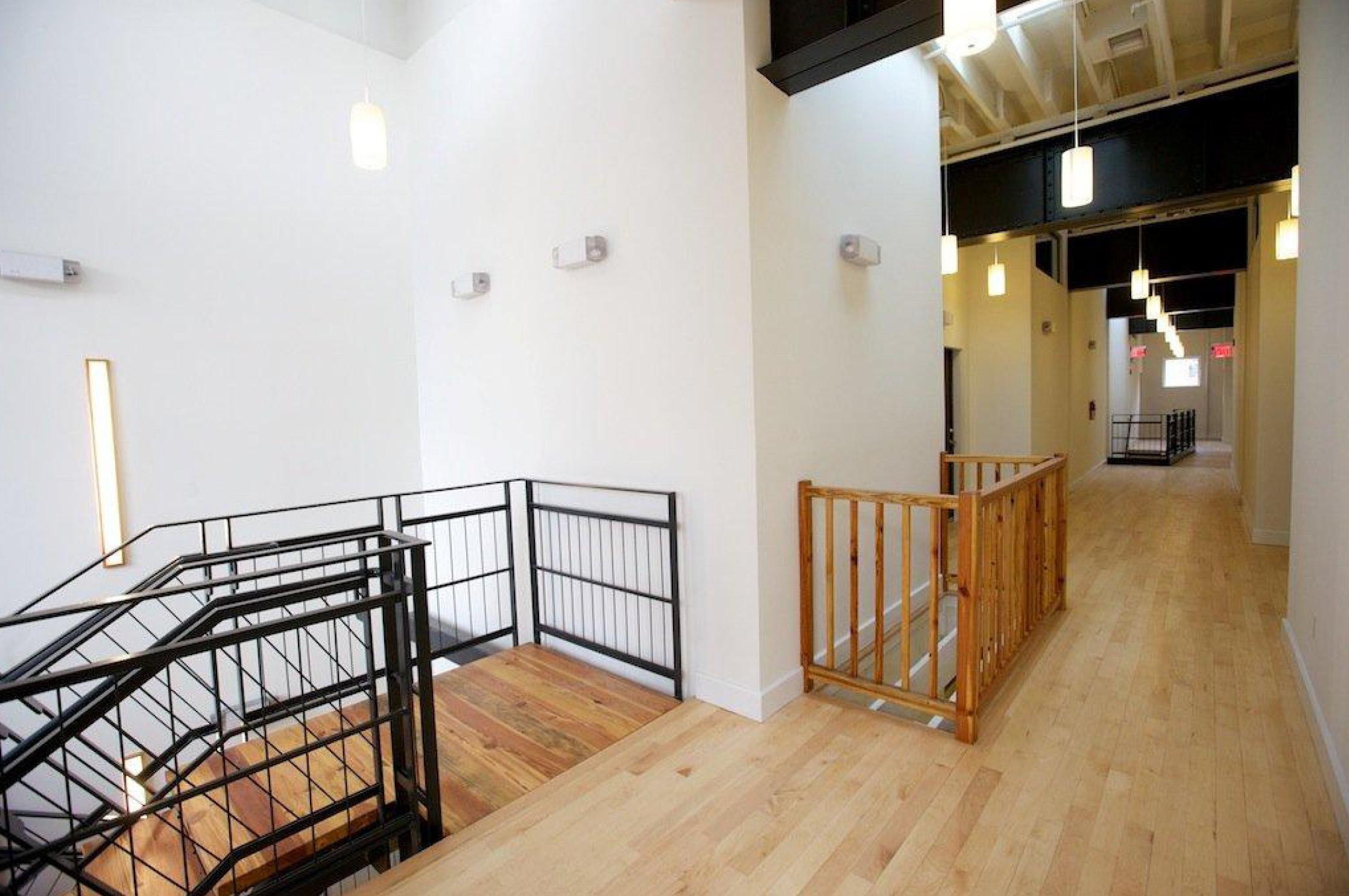 Interior Upper Corridor