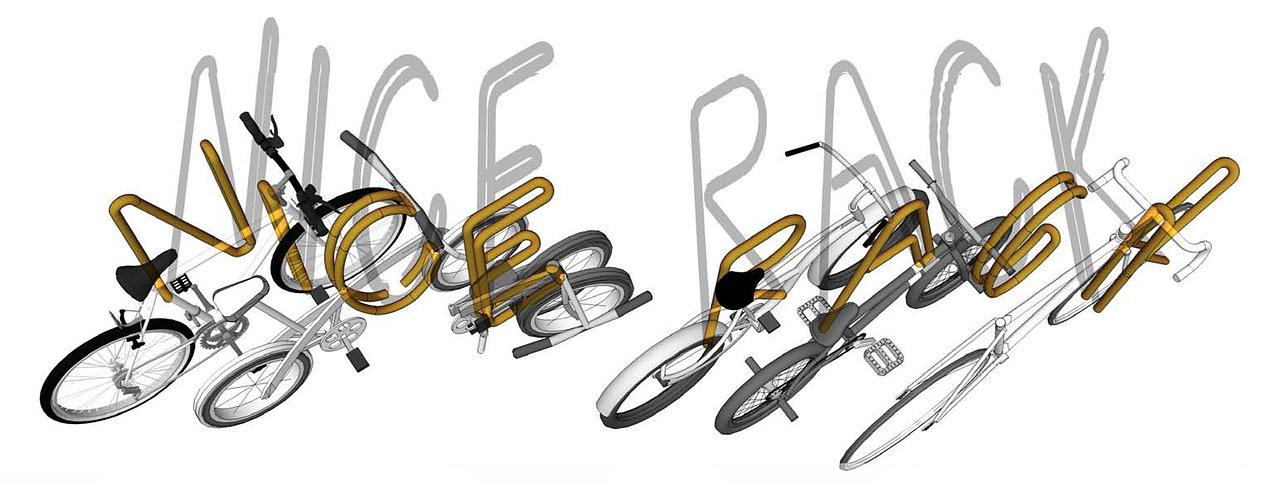 Bike Rack Axon