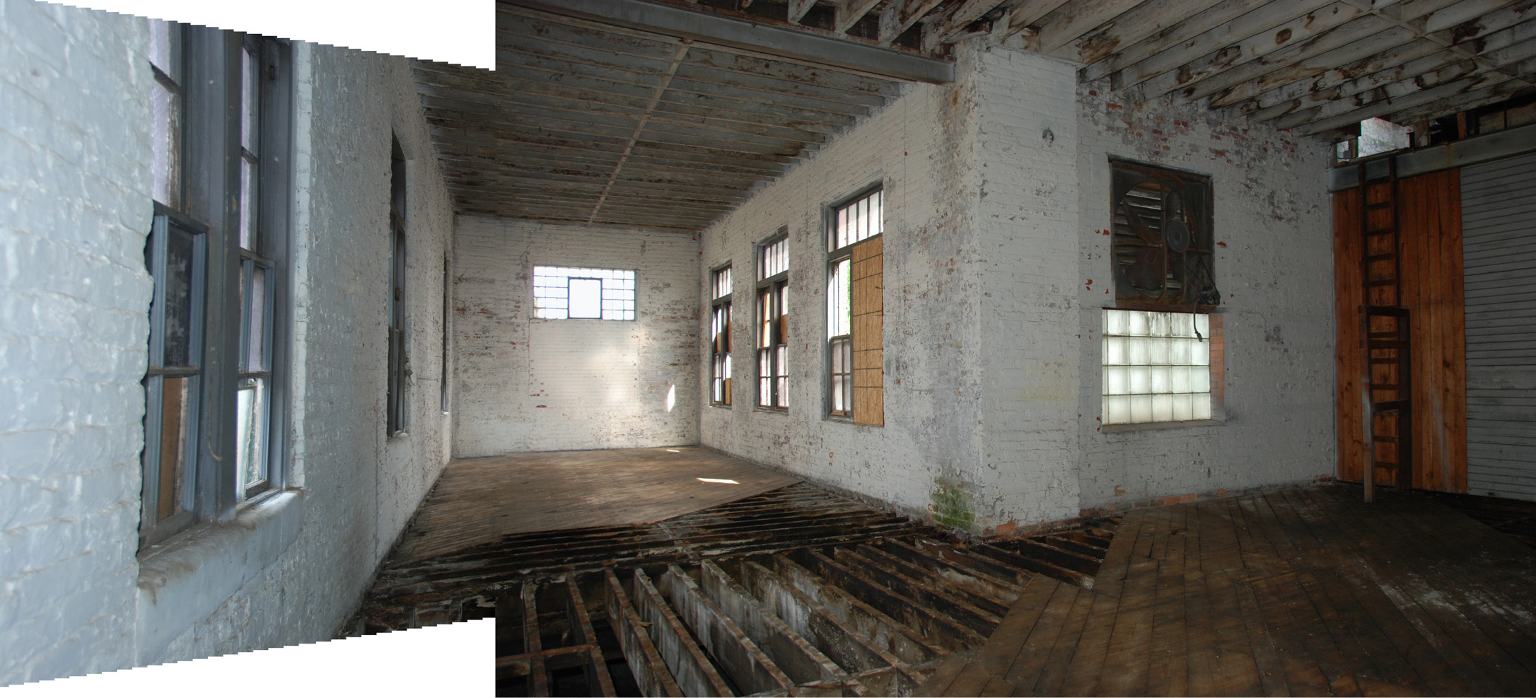 Upper Level After Demolition