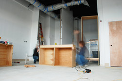 1620 Kitchen in Construction