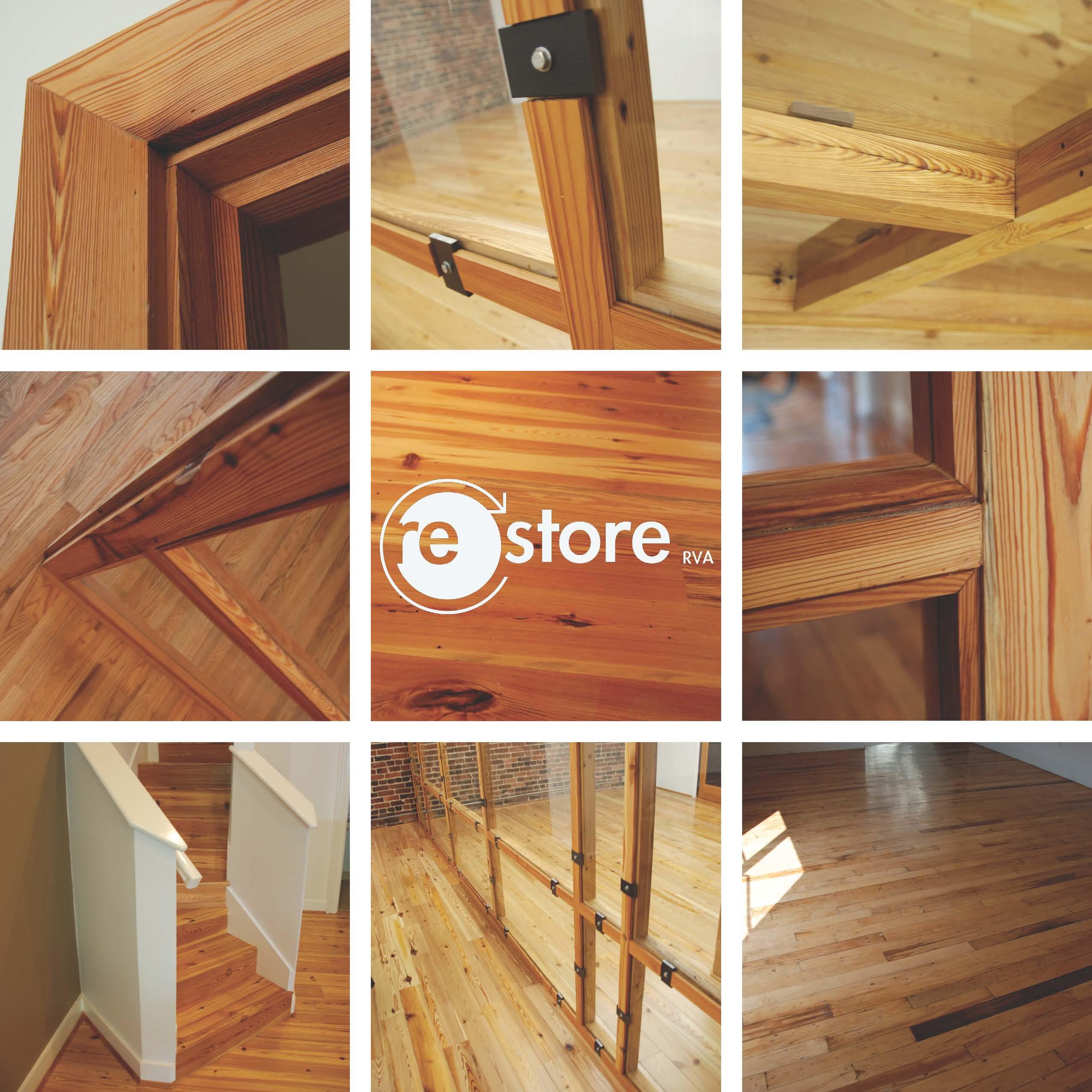 Reclaimed Wood Storefront Details
