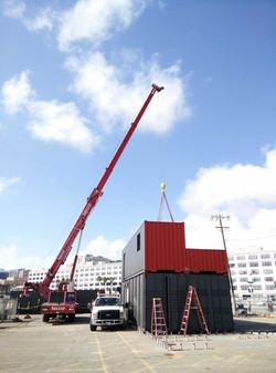 Shipping Container Contruction