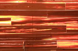 Kitchenette Wood Veneered Backlit Backsplash