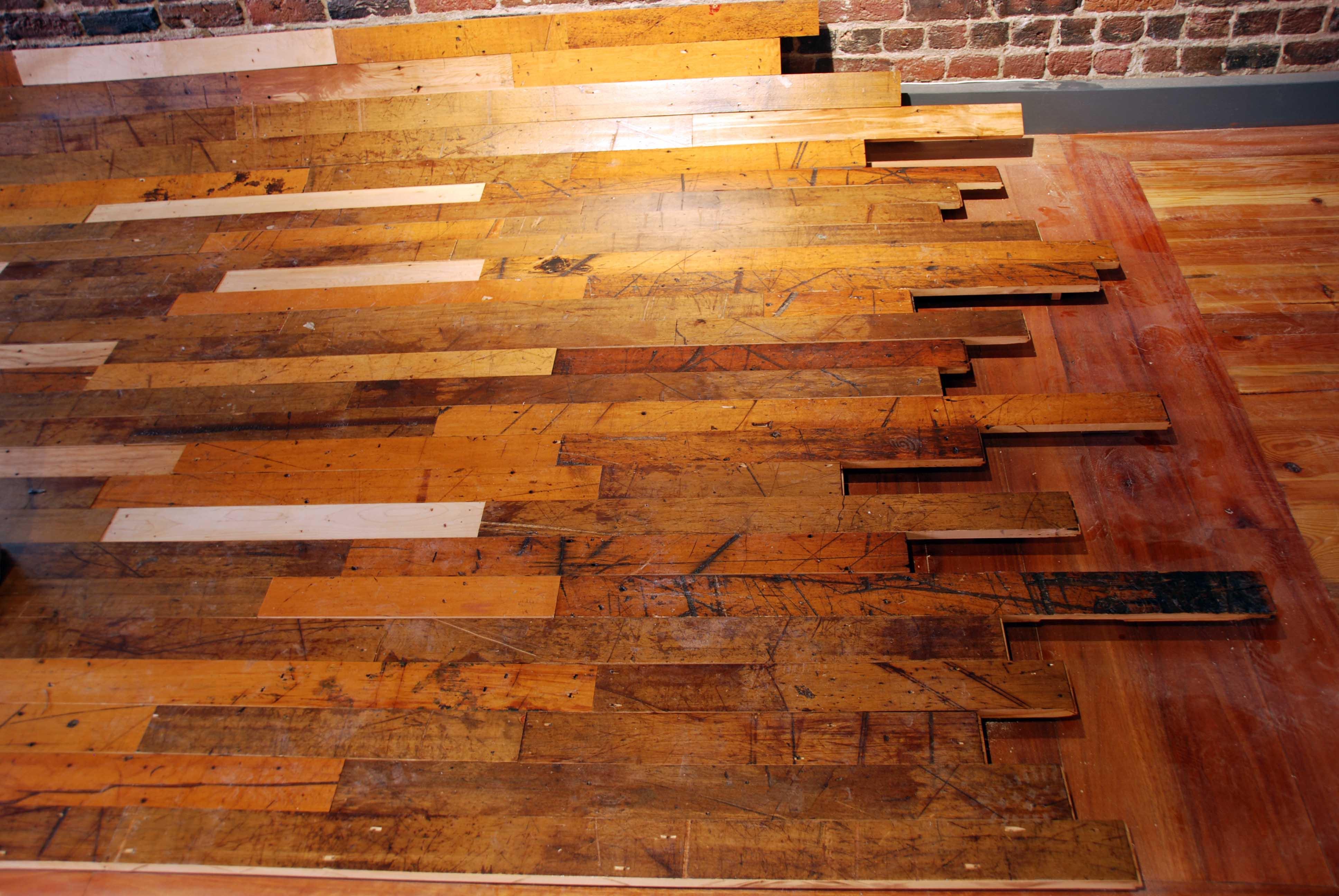 Martha Mills Reclaimed Wood - Front Desk Floor
