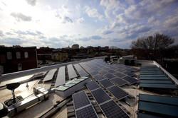 Solar Heaters & PV Array