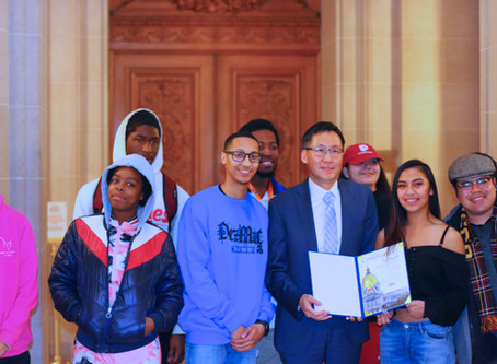 District 4 Supervisor Gordon Mar Commends Sunset Youth Services