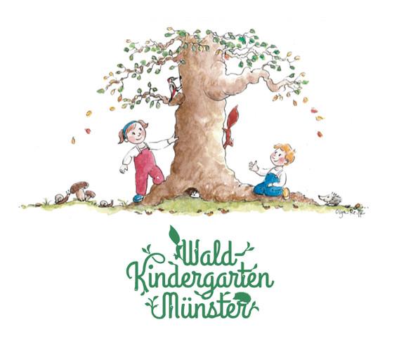 """Bildmarke """"Waldkindergarten"""""""
