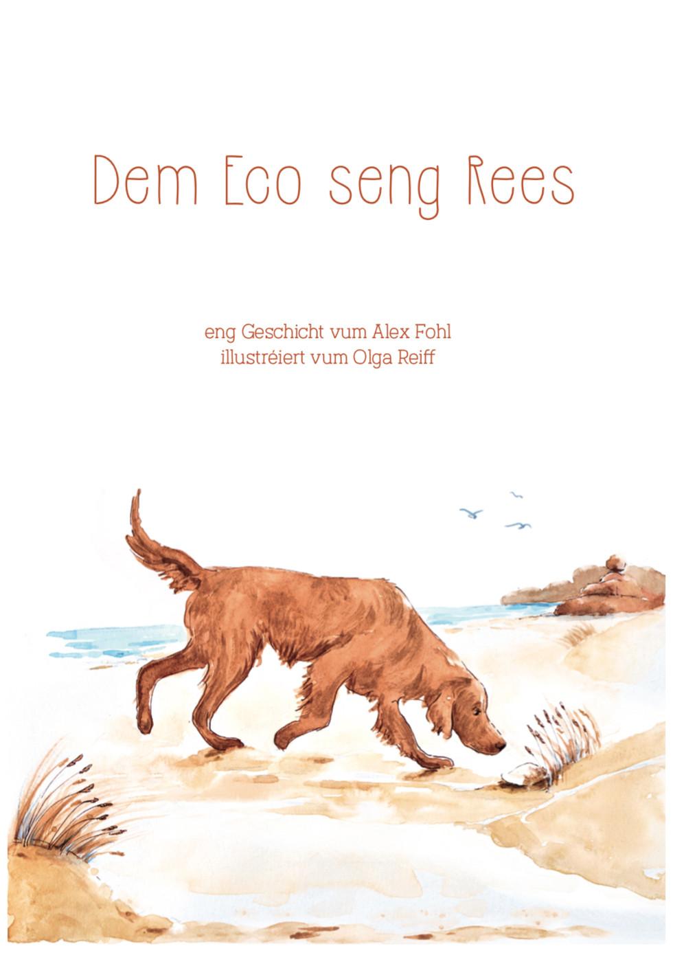 """Buchcover """"Dem Eco seng Rees"""""""
