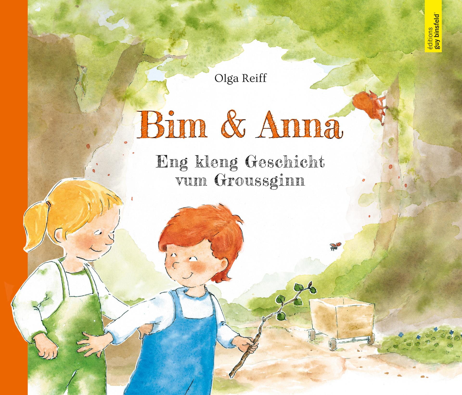 """Cover """"Bim & Anna"""""""
