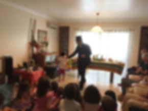 magico festa aniversario lisboa sintra ilusionista