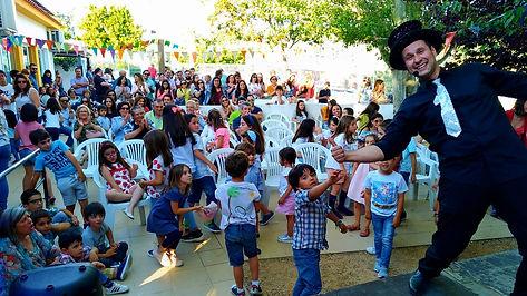 Festa de magia em festival.