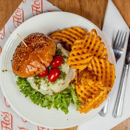 Burger Waffles Fries Flos Famous Patchogue.JPG