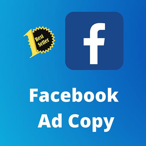 Facebook Ad Copy (1 Ad)