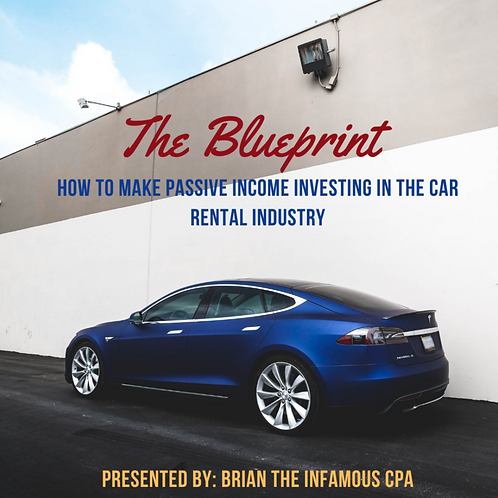 How to Make Passive Income in the Car Rental Industry (The Infamous CPA)