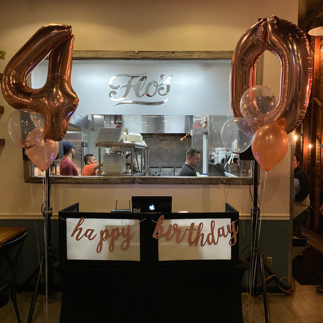 Birthday Catering Patchogue NY Flos Famo