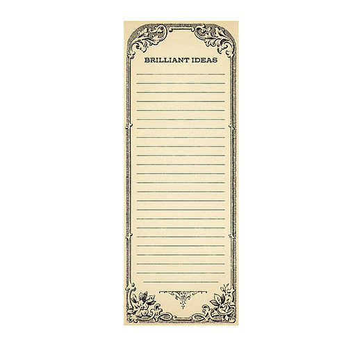 Brilliant Ideas - Skinny Notepad
