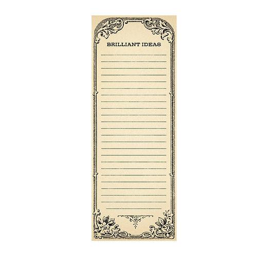 Brilliant Ideas - Skinny Notepad