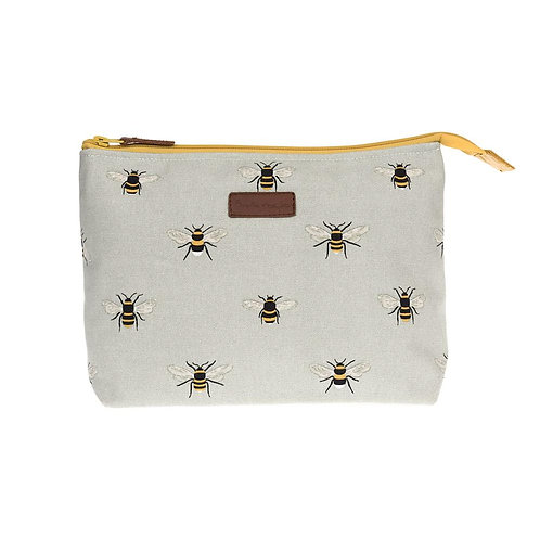Canvas Wash Bag - Bees