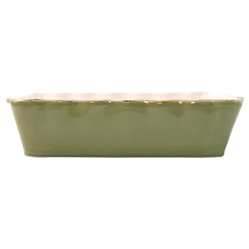 Italian Baker - Large Rectangle - Green
