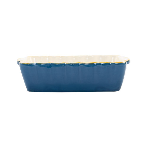 Italian Baker - Small Rectangle - Blue