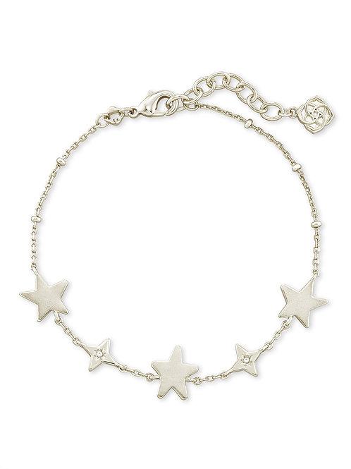 Jae Star Delicate Chain Bracelet In Silver