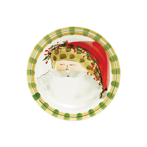Old St. Nick Assorted Round Salad Plate - Animal Hat