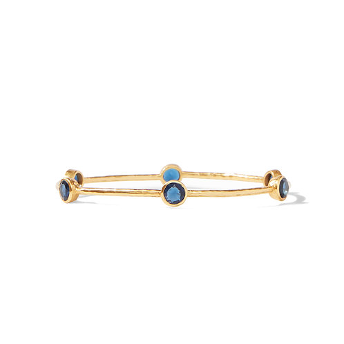 Milano Bangle - Sapphire Blue