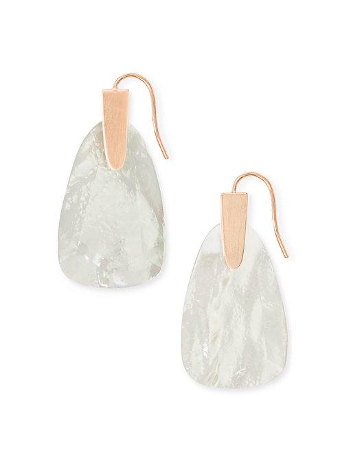 MARTY EARRING RSG IVORY MOP