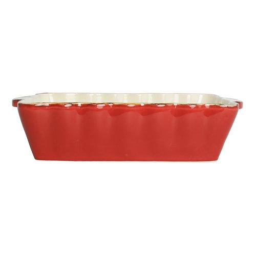 Italian Baker - Medium Rectangle - Red