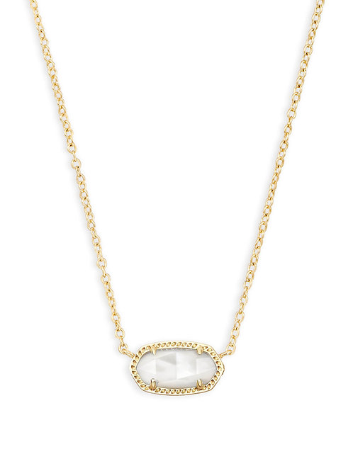 Elisa Necklace Gold Ivory Mop - June