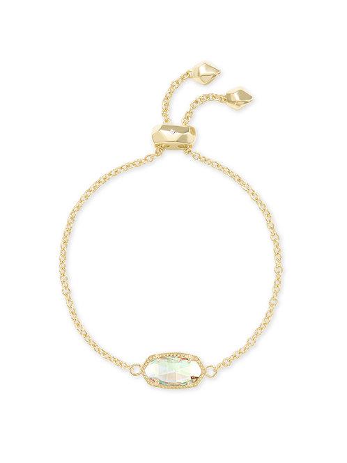 ELAINA BRACELET GOLD DICHROIC GLASS