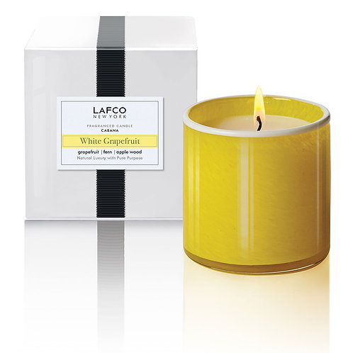 Lafco White Grapefruit Candle - Cabana