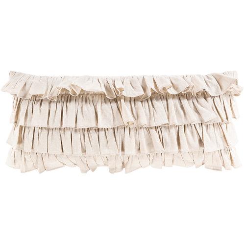 Ruffle Bolster Pillow