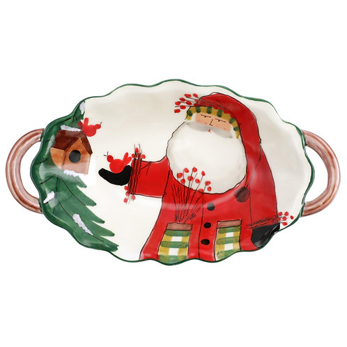 Old St. Nick Handled 2020 Limited Edition Scallop Bowl