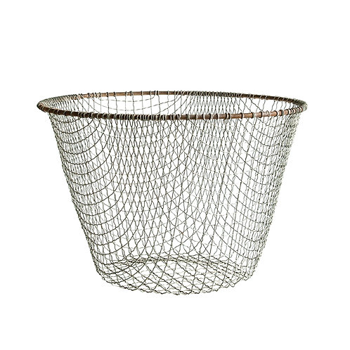 Tall Round Wire Basket